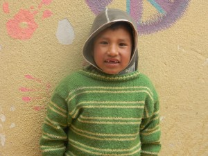 Young boy at Marcelina House