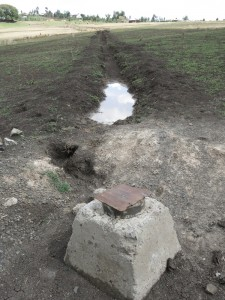 Gelan Gura Bore Hole and Distribution System Trenches