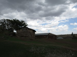 Clouds over Gelan Gura school