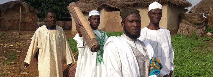 Sang community elders heading for Eid prayer grounds