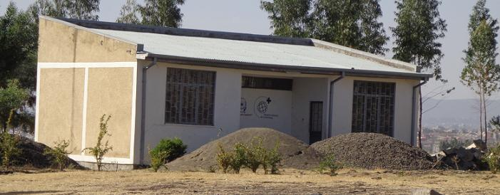 The now-closed health post at Gelan Gurra, Ethiopia.