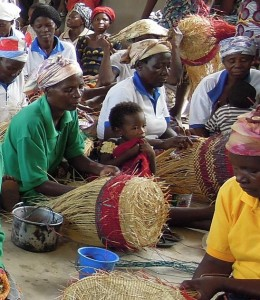 group of women vea craft centre with child.25
