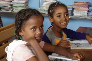 Isapso funded library at ECCE