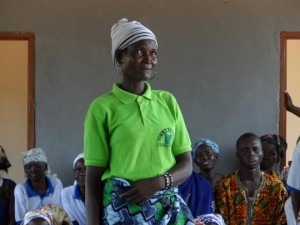 Woman leader Ghana