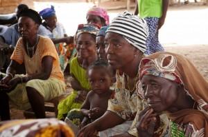 Women farmers Wellembelle Upper West Region Ghana