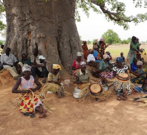 Basket weavers of  Sumbrungu, Upper East Region, Ghana will soon have a new craft centre.