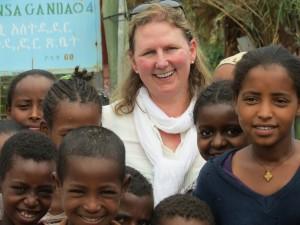 CFTC President & CEO Debra D. Kerby in Ethiopia.