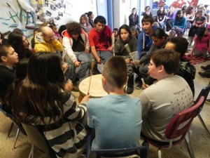 First Nations School - Big Circle Ceremony 2 - Feb 2013