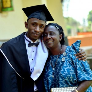 5. With Mum on my Graduation