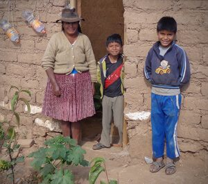 Efrain and his family