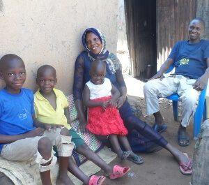 Aisha and her family