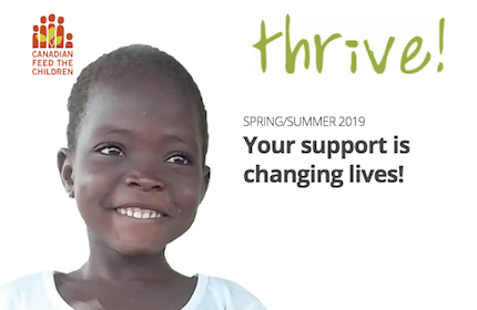 thrive! Spring/Summer 2019 magazine cover