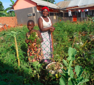 VSLAs and agricultural training have turned Rebecca's life around, and now her family has enough to eat.